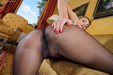Cara Mell In Pantyhose And Heels By In The Crack Erotic Beauties