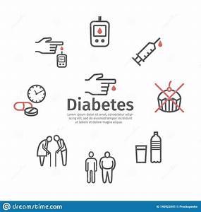 Diabetic Foot Medical Vector Illustration Scheme  Vector