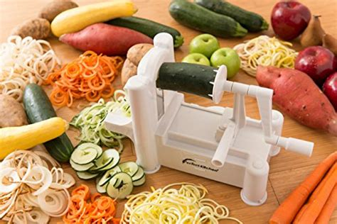 paderno cuisine spiral vegetable slicer image gallery spiralizer amazon