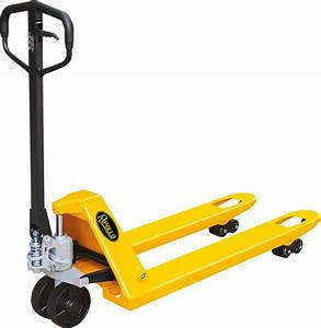 Apollolift Narrow Manual Pallet Jack Truck 5500lbs
