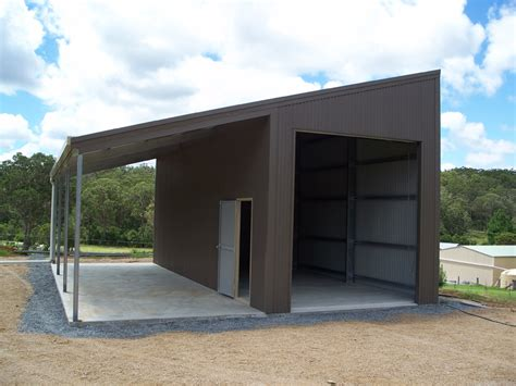Monopitch\skillion Roof Garage  Clarence Valley Sheds