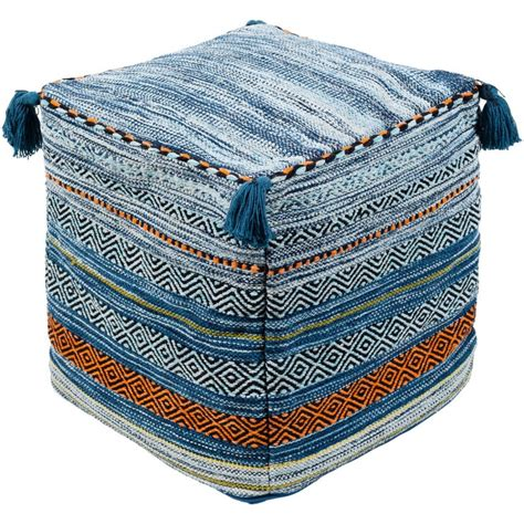 But drinks balance precariously atop a tray. Friday Family-Friendly Find: Surya Trenza Pillows & Poufs