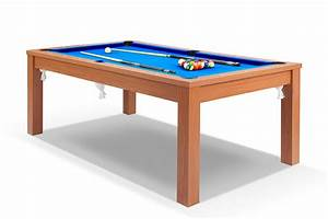 billard convertible en table a manger merisier billards With table de billard transformable en table de salle a manger