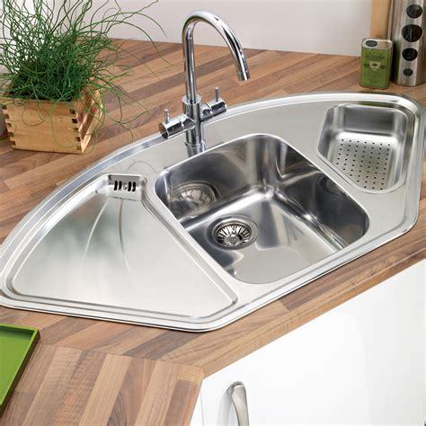 kitchen corner sinks uk astracast lausanne deluxe 1 5 bowl corner kitchen sink 6620