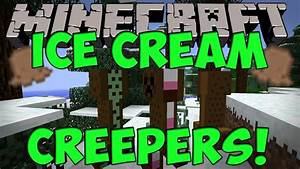 Minecraft Mods - Ice Cream Sandwich Creeper Mod (Minecraft ...