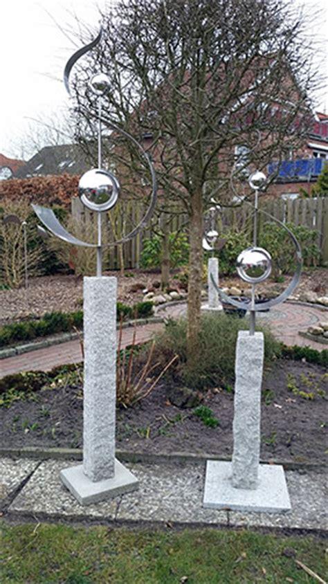 Kunstobjekte Für Den Garten by Schwung Nach Noten Garten Kunst Objekte Edelstahl