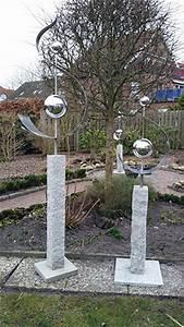 Skulpturen Für Den Garten : schwung nach noten garten kunst objekte edelstahl garten kunst objekte ~ Sanjose-hotels-ca.com Haus und Dekorationen