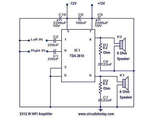 fi amplifier circuitcircuit diagram world