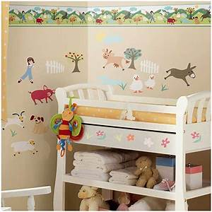 Tapeten Für Kinderzimmer Mädchen : roommates tapeten borte m dchen auf dem bauernhof www 4 ~ Michelbontemps.com Haus und Dekorationen