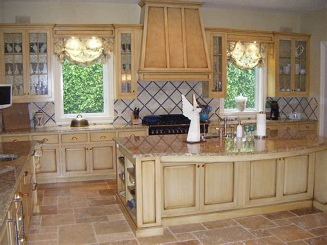 Pickled Oak Cabinets Kitchen by Custom Kitchen Cabinets Charles R Bailey Cabinetmakers