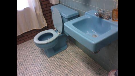 Bluss Sassy Tolet 31 blue 1960 kohler wellworth toilet