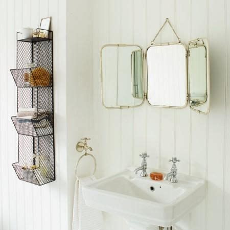 Tri Fold Bathroom Wall Mirror by Tri Fold Wall Hung Mirror I Graham And Green Home