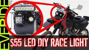 How To Install The  55 Super Bright Led Dirt Bike