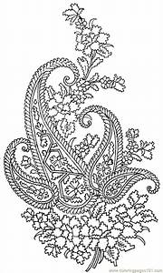 Textile Pattern 023 coloring page - Free Printable ...