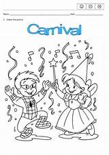 Carnival Coloring Worksheets Pages Mistake Found Busyteacher sketch template