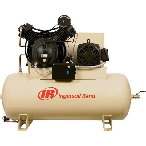 ingersoll rand 100 air compressor free shipping ingersoll rand electric stationary air compressor 100 gallon above horizontal