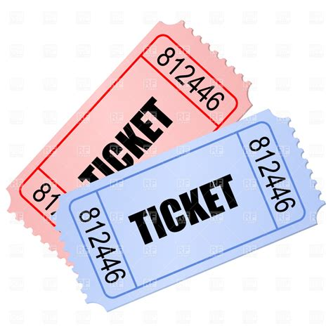 Ticket Clip Entry Ticket Clipart Clipground