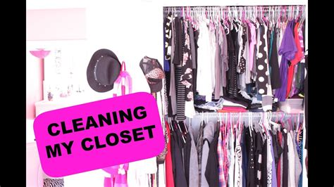 Organizing / Cleaning My Closet