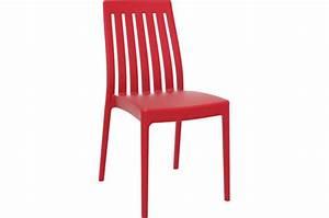 Chaise Rouge Design : chaise design rouge sandy design sur sofactory ~ Teatrodelosmanantiales.com Idées de Décoration