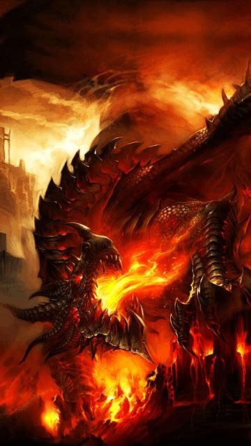 Deathwing Animated Wallpaper - deathwing iphone live wallpaper on phoneky ios app