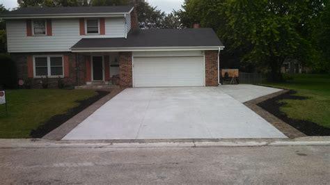 concrete driveway ideas concrete driveway design ideas