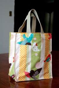 Small Tote Bag Tutorial