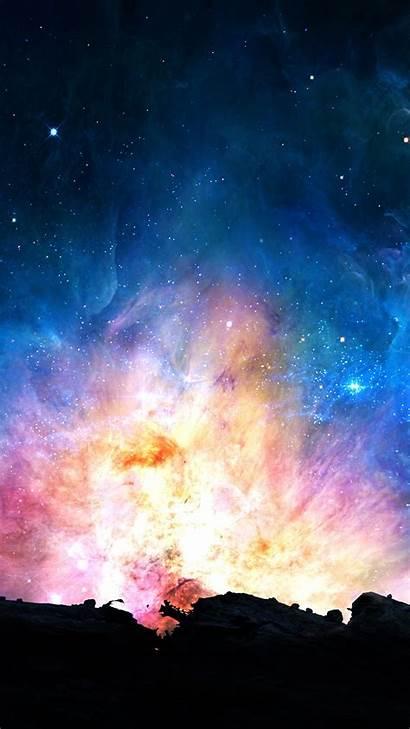 Galaxy Iphone Power Wallpapers Cool Colorful Wallpapersafari