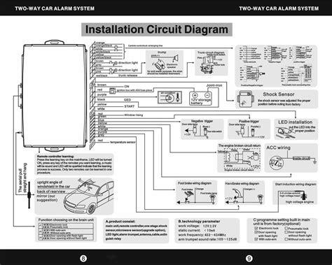 Wiring Diagram Cobra Alarm Beautiful With Commando