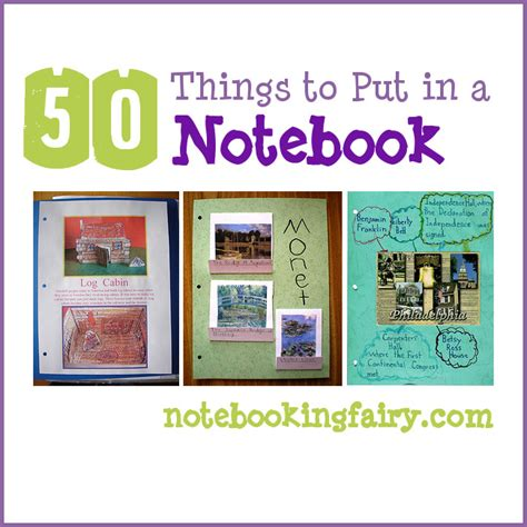What Are Some Things To Put On Your Resume by Fifty Things To Put In A Notebook