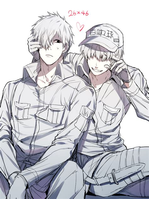 neutrophil hataraku saibou zerochan anime image board