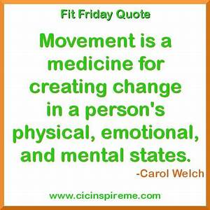 Fit Friday Quot... Fitness Movement Quotes
