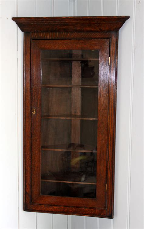 small wall cabinet small solid oak corner wall cabinet antiques atlas