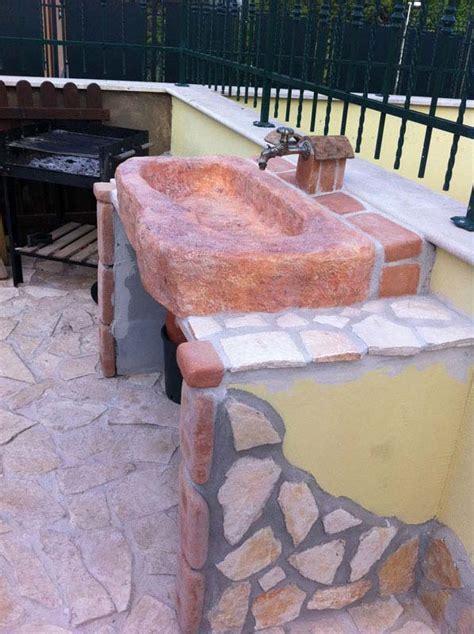 lavelli giardino lavello da giardino tovel senza supporti fontane a muro