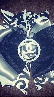 Chanel damask bow   Bows, Damask, Hair bows