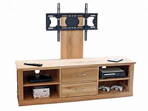 Wall Mounted Tv Cabinet For Flat Screens With Natural