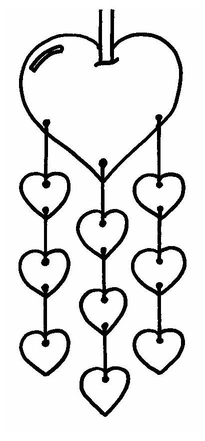 Mama Coloring Pages Heart Valentines Valentine