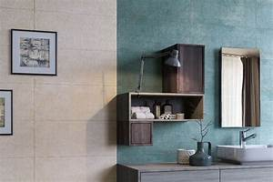 Turquoise, And, Neutral, Modern, Bathroom