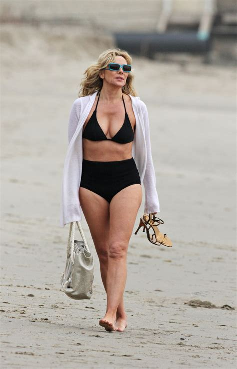 Kim Cattrall - Celebrities in Bikinis - Zimbio