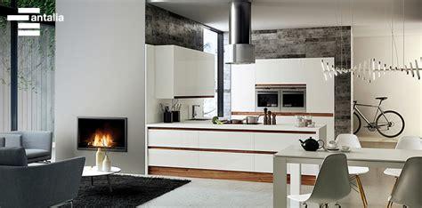 ideas  integrar la cocina  el salon
