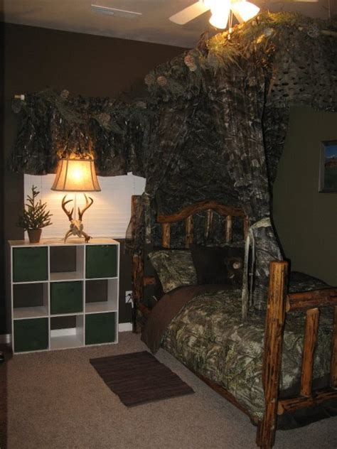 Camo Bedroom by The Funky Letter Boutique How To Decorate A Boys Room In