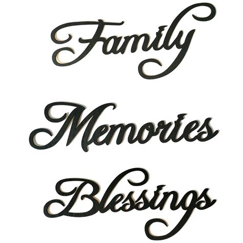 Read reviews for 7 black wooden letter by artminds®. Adeeing Wooden Black Letter Wall Decoration Stylish Hanging Pendant Ornament -in Wall Stickers ...
