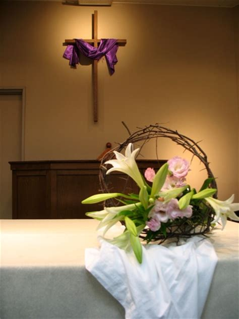 Religious Easter Decorations Ideas by Inexpensive Easter Decorations For The Church