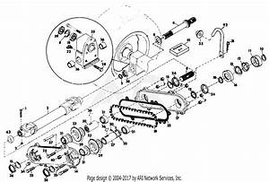Gravely 34691 Rear Pto 4 Wheel Tractor Parts Diagram For