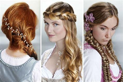 wiesn frisuren lange haare oktoberfest frisuren tolle ideen zum nachmachen oktoberfest oktoberfest frisur dirndl
