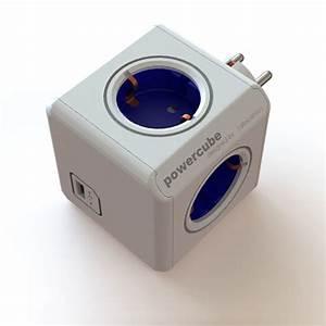Multiprise Avec Usb : allocacoc powercube original usb multiprise allocacoc ~ Melissatoandfro.com Idées de Décoration