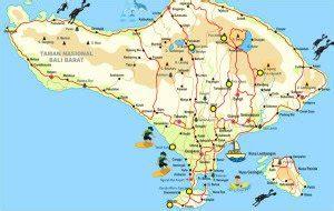 bali tourist map  lifehackedstcom