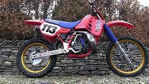 Classic Dirt Bikes 1986 Cr 250 Honda  Titanium