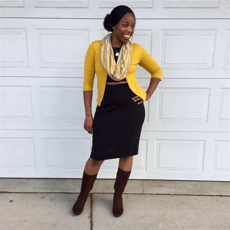 Mustard Cardigan Outfit Ideas - English Sweater Vest