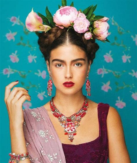 Frida Kahlo Kostüm Selber Machen  Karneval Pinterest