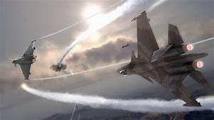F-22 Raptor (DogFight Scene) SU-47 Sukhoi (5TH Gen.) - YouTube